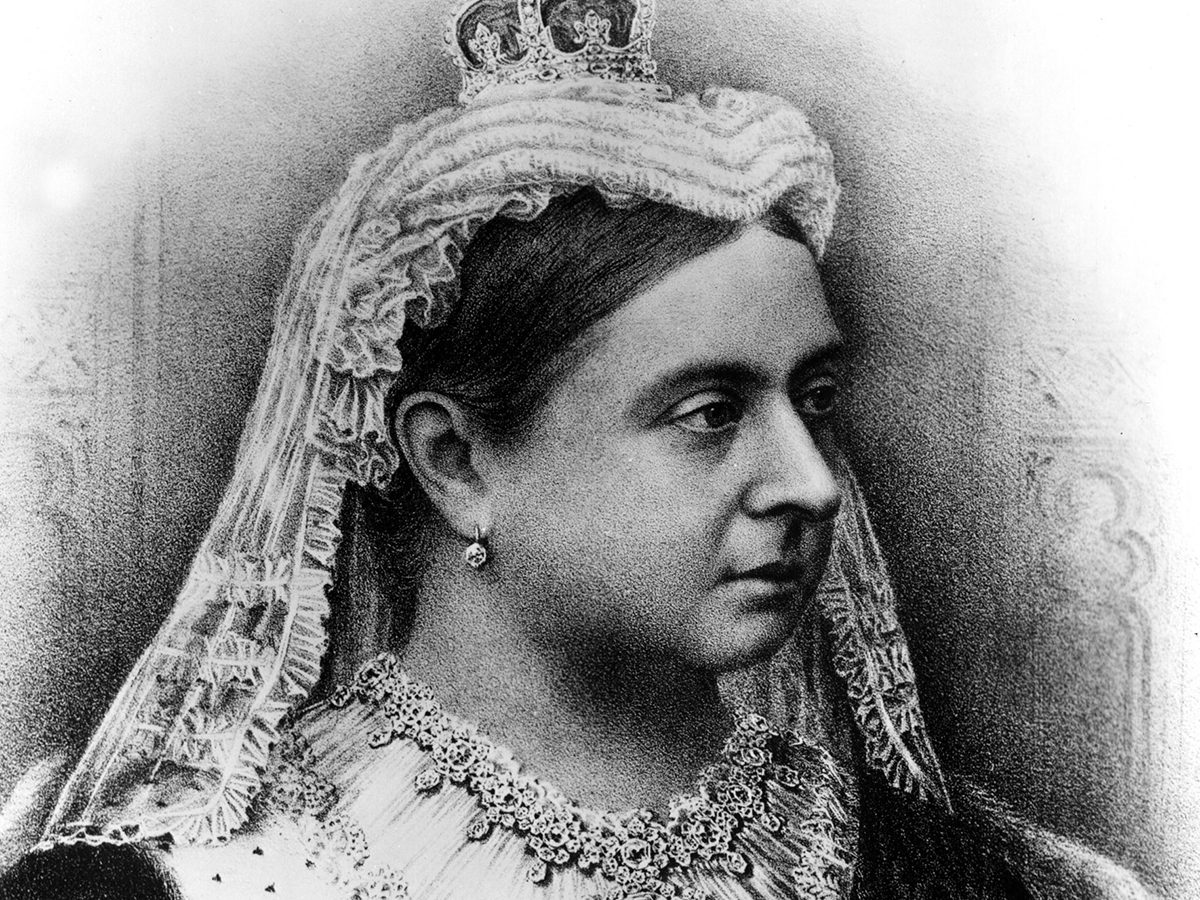 Facts about Queen Victoria illustration