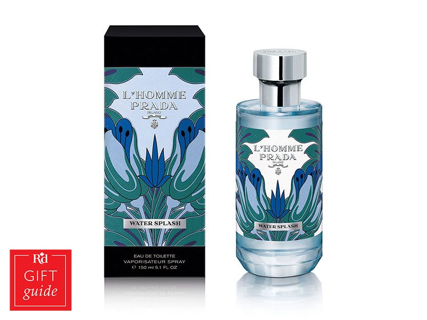 Father's Day Gift Guide - Prada L'Homme Water Splash
