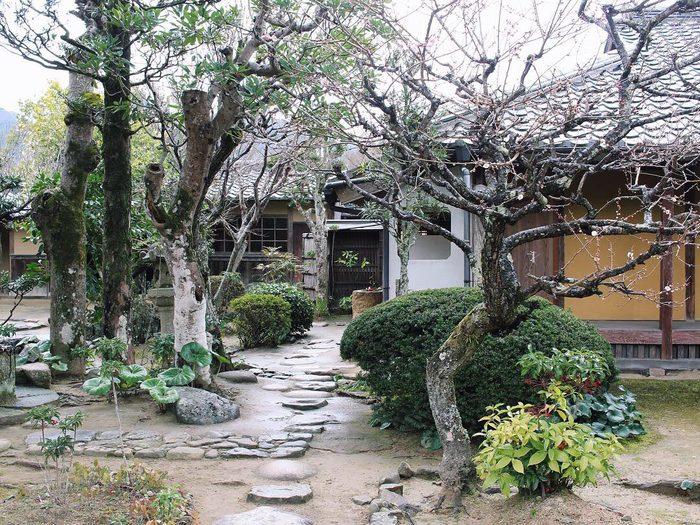 Garden in Hagi, Yamaguchi, Japan