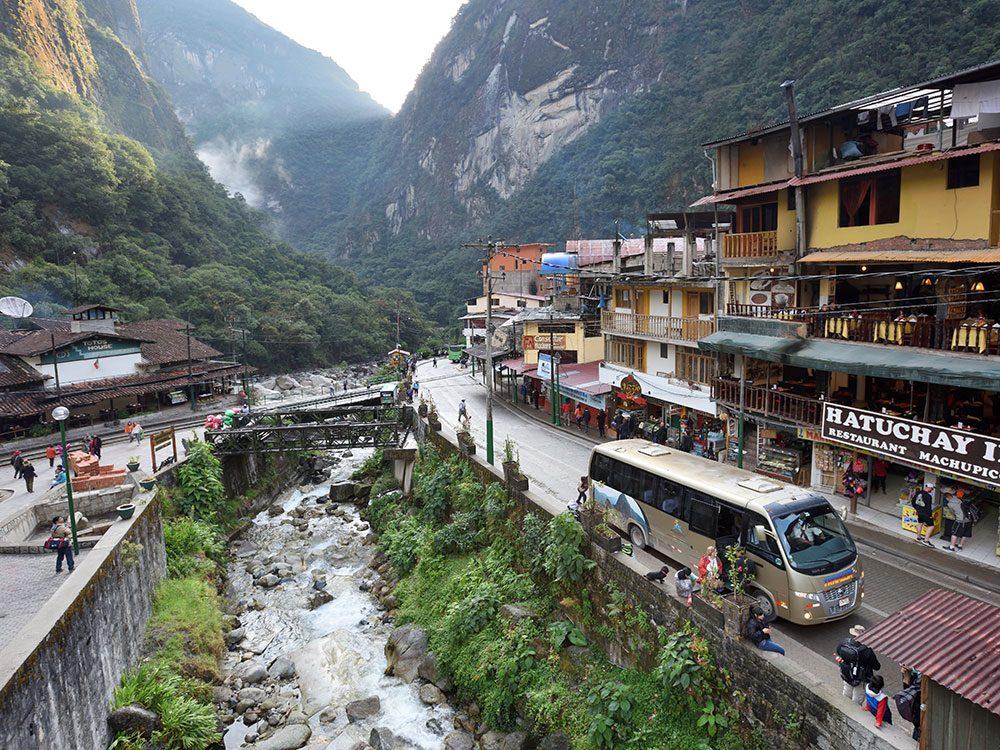 Machu Picchu facts - Aguas Calientes