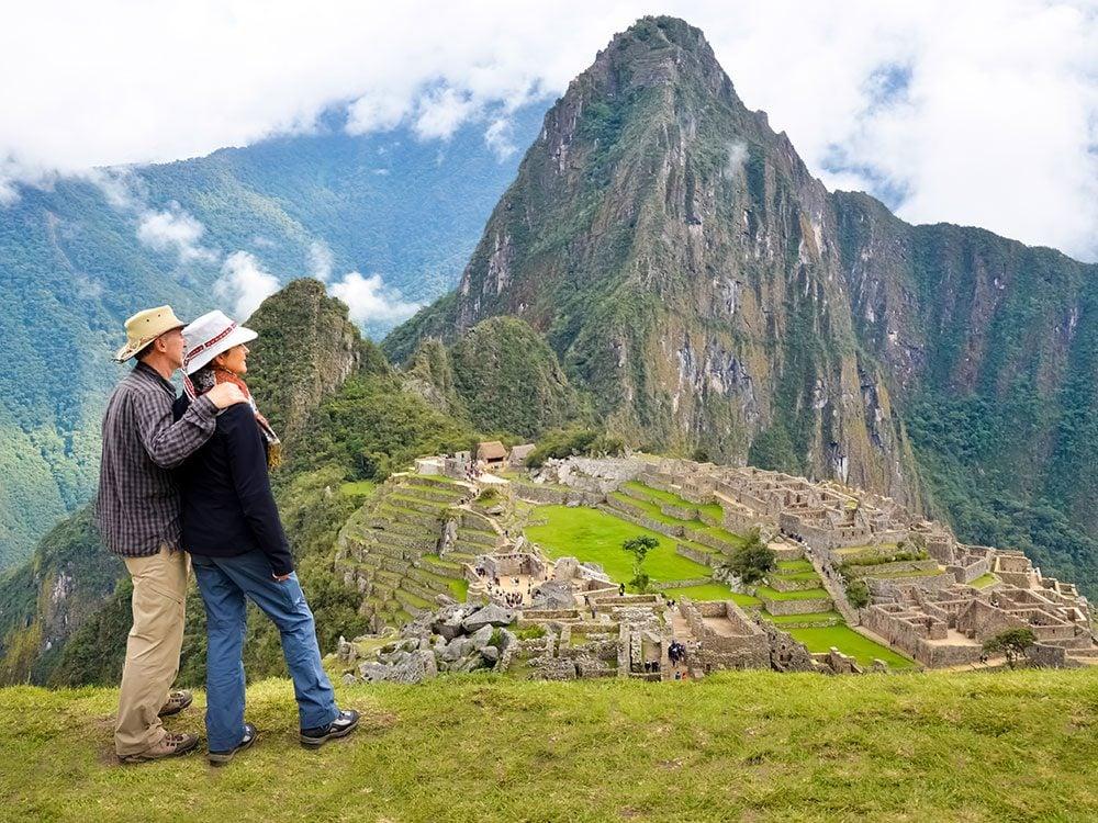 Machu Picchu facts - Huayna Picchu mountain