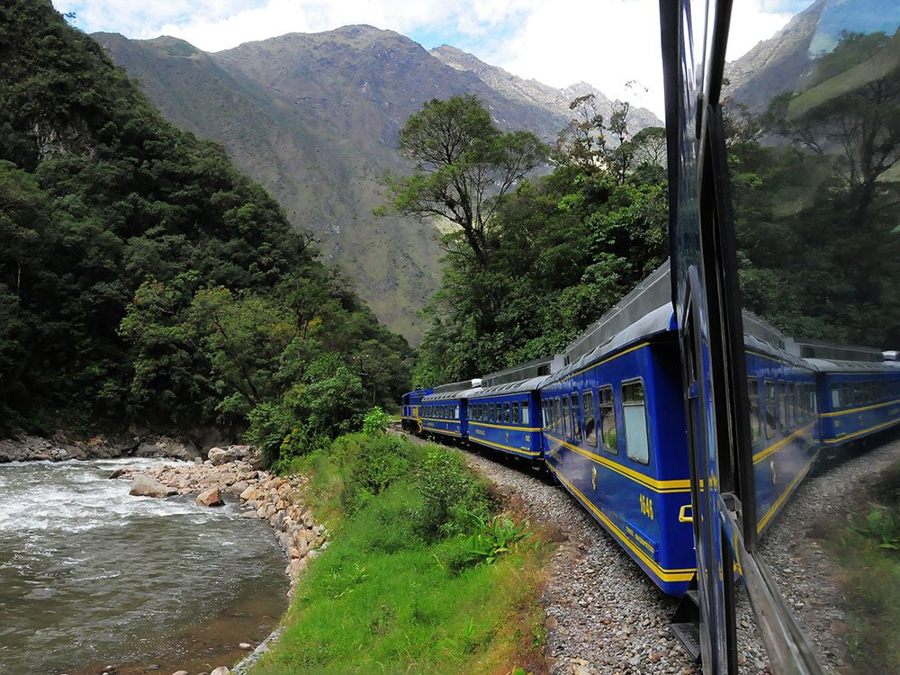 Machu Picchu facts - Inca Rail train
