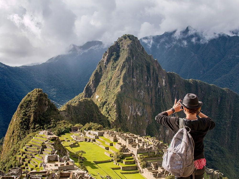 Machu Picchu facts - Machu Picchu height