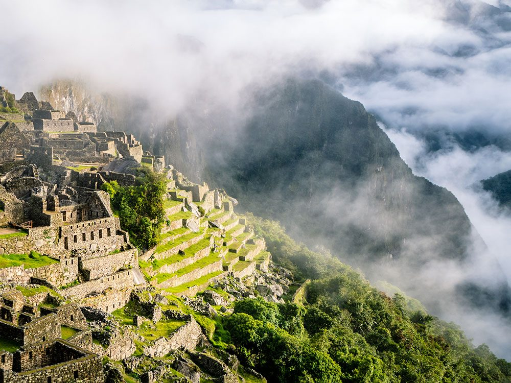 Machu Picchu facts - name of the mountain