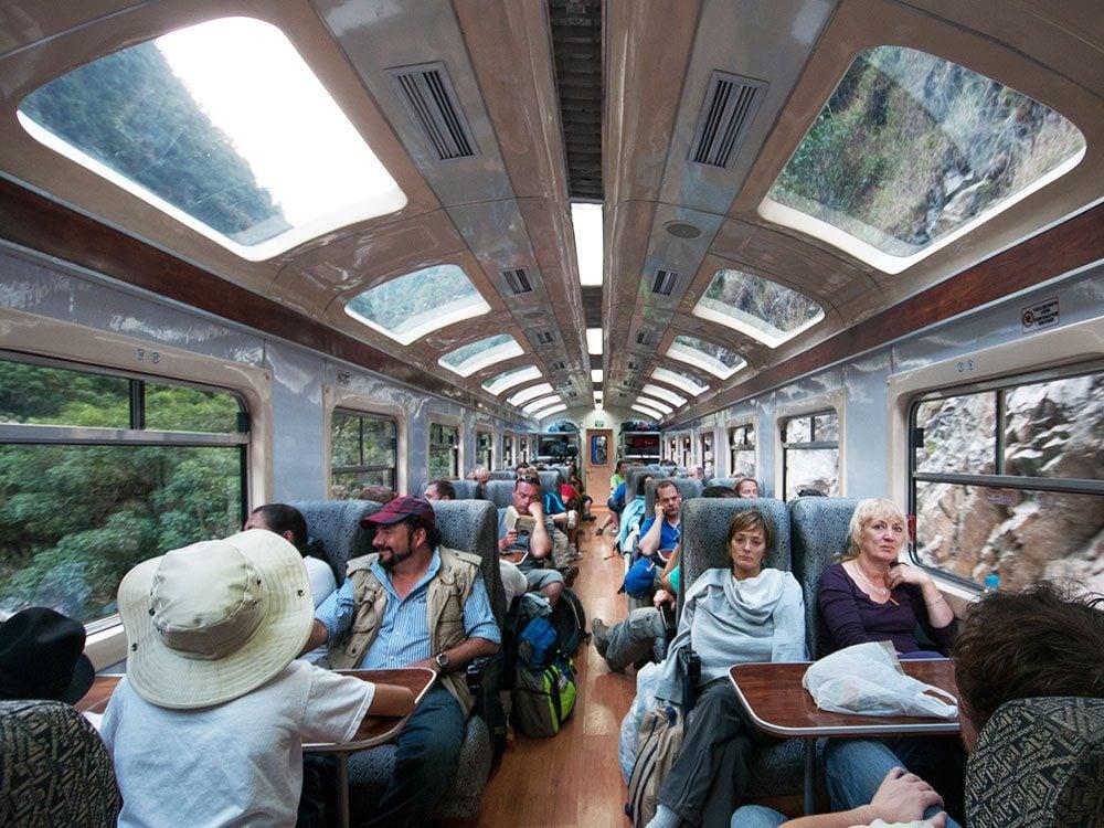 Machu Picchu facts - Inca Rail train