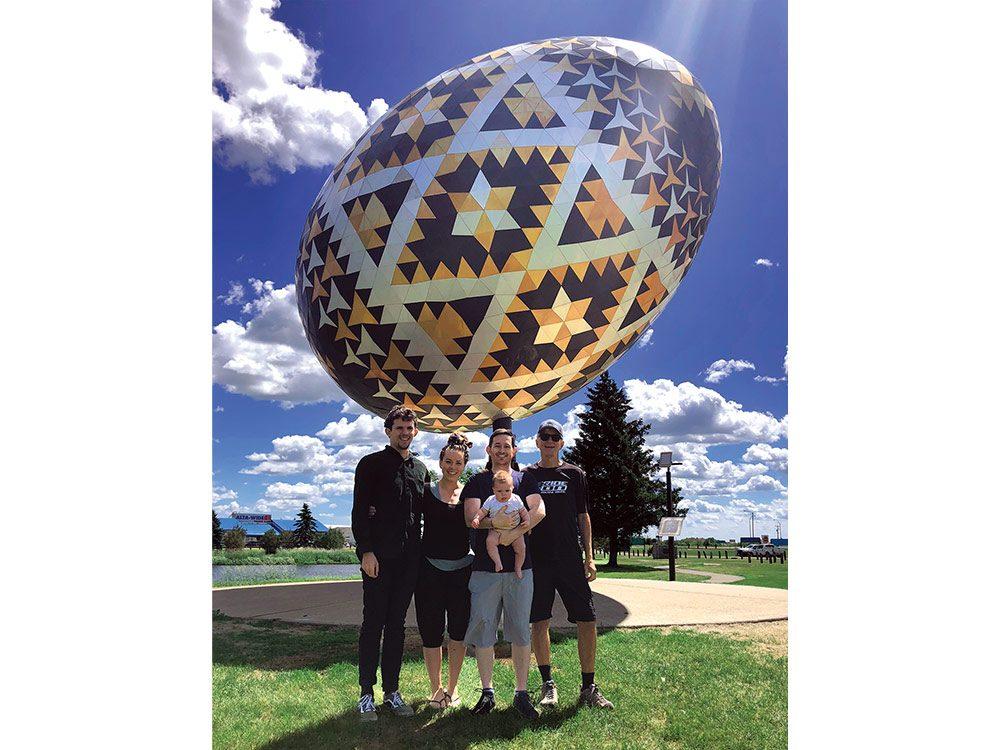 Vegreville Pysanka in Vegreville, Alberta