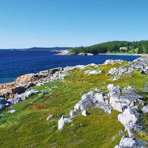 French Point in Newfoundland, Canada