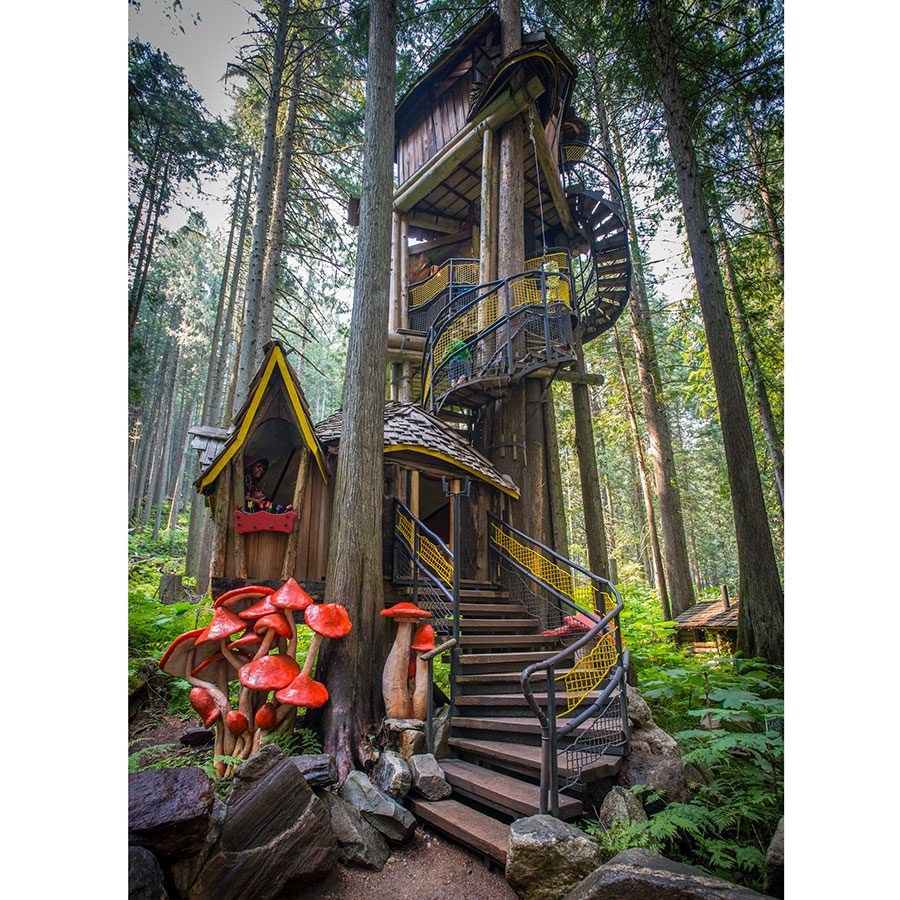 Roadside attractions across Canada - The Enchanted Forest