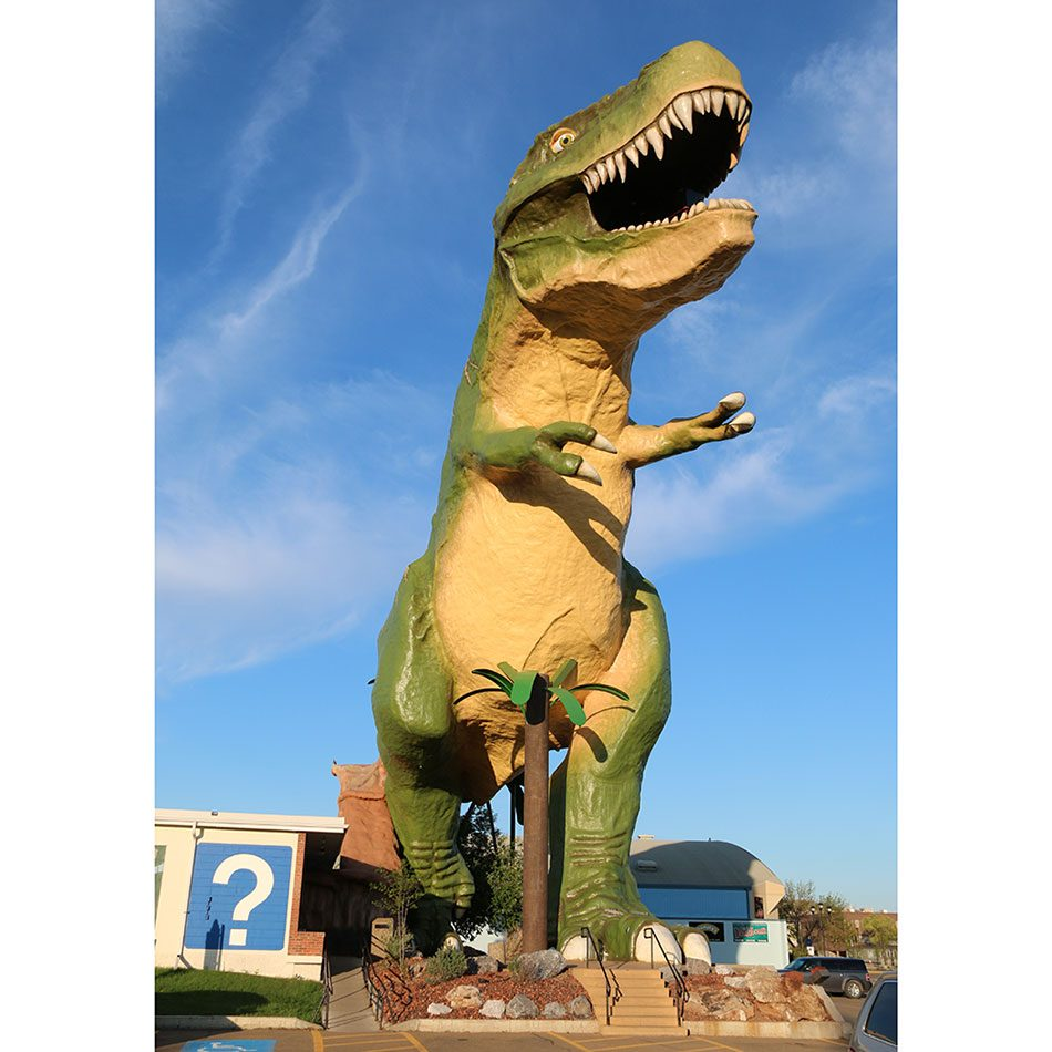 Roadside attractions across Canada - World's Largest Dinosaur