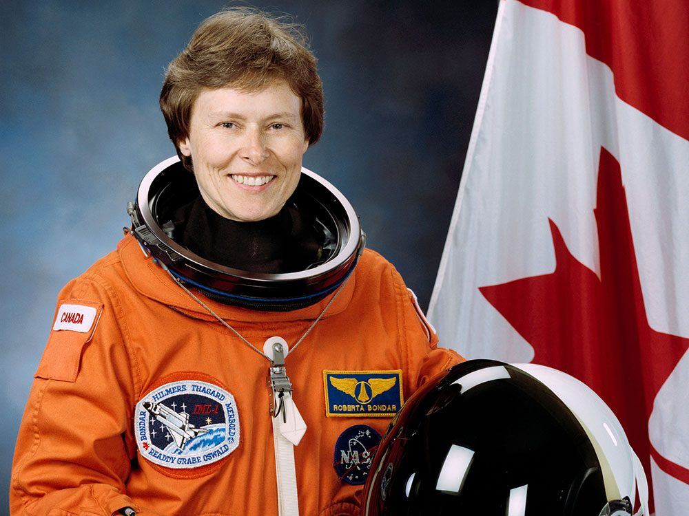 Roberta Bondar - first Canadian woman in space