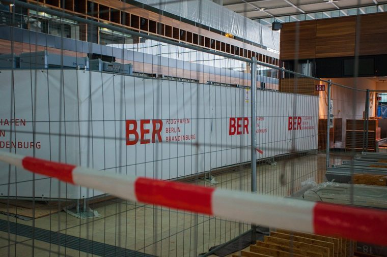Construction Site of the future Berlin-Brandenburg Airport