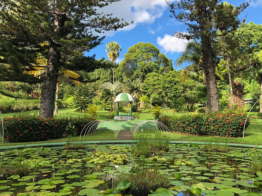 St. Vincent and the Grenadines Botanical Gardens