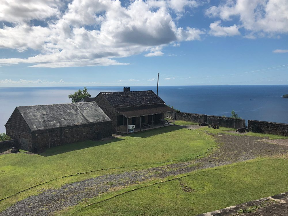 St. Vincent and the Grenadines - Fort Charlotte