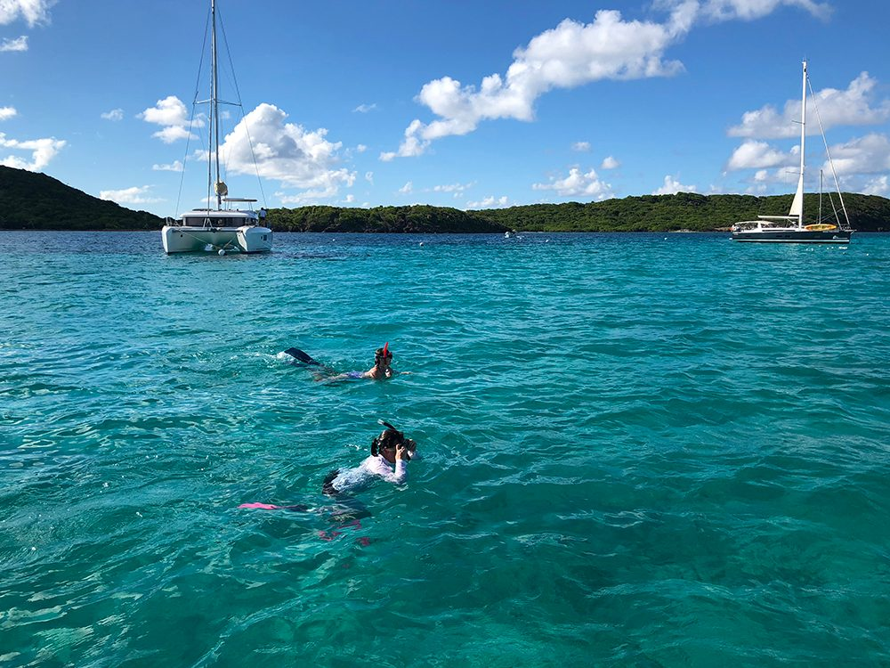 St. Vincent and the Grenadines - snorkelling in Tobago Cays