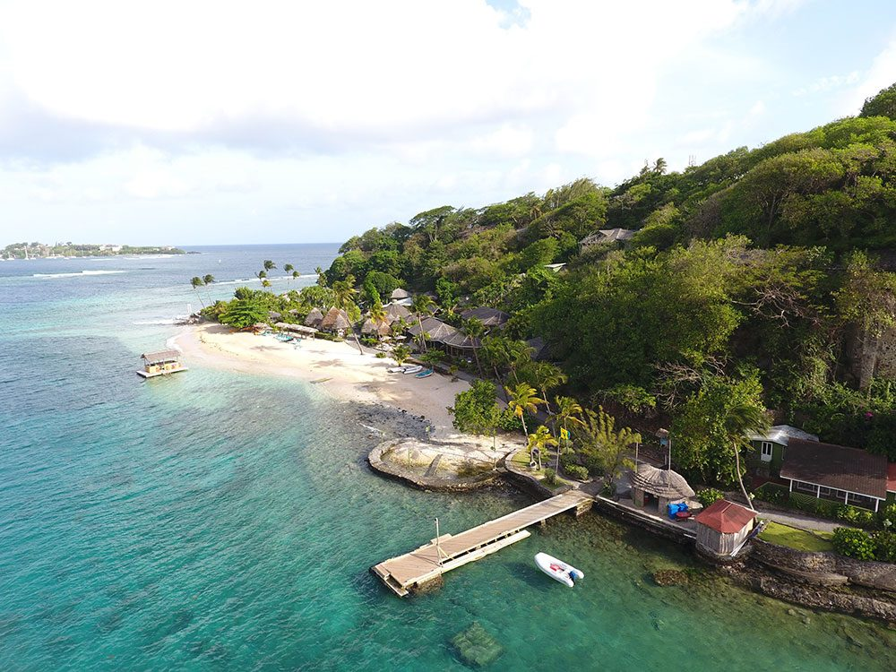 St. Vincent and the Grenadines - Young Island Resort