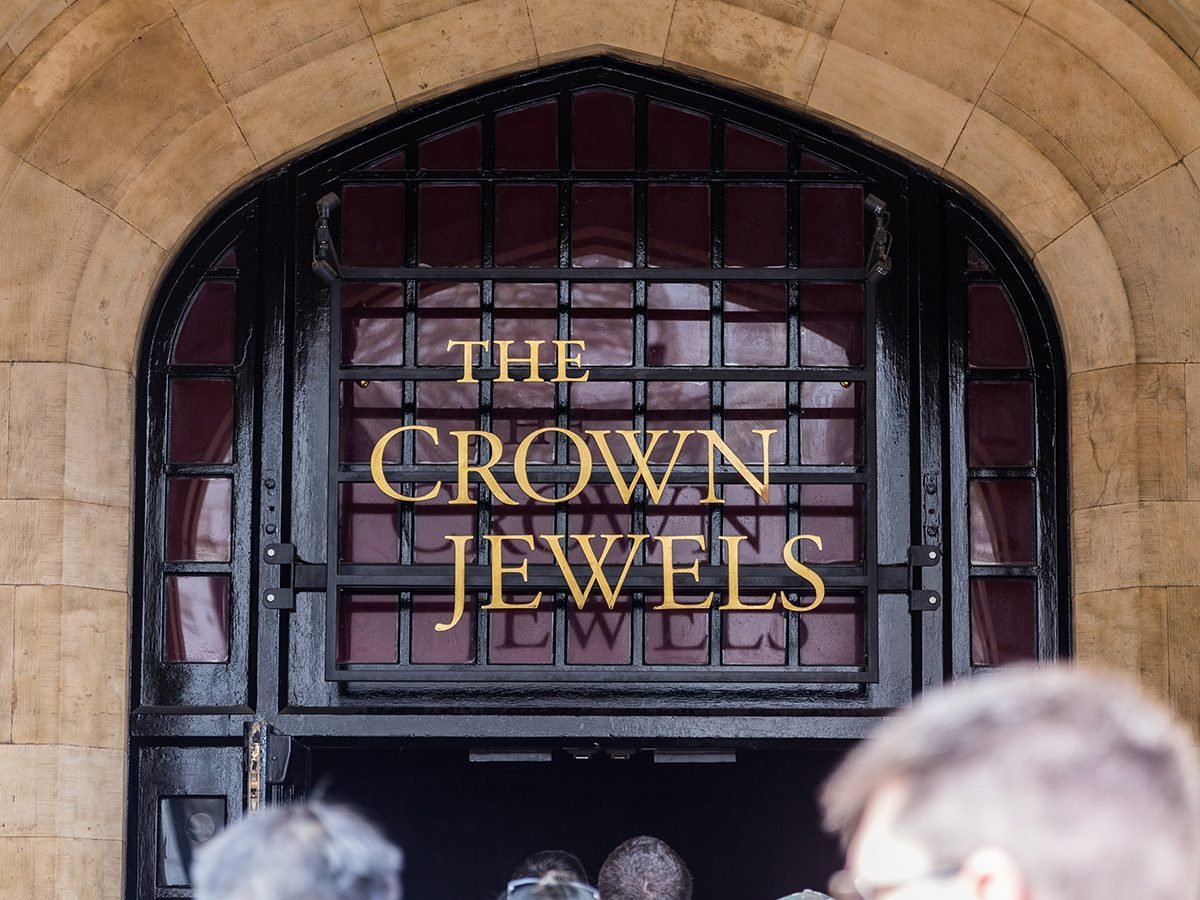 The Crown Jewels at the Tower of London