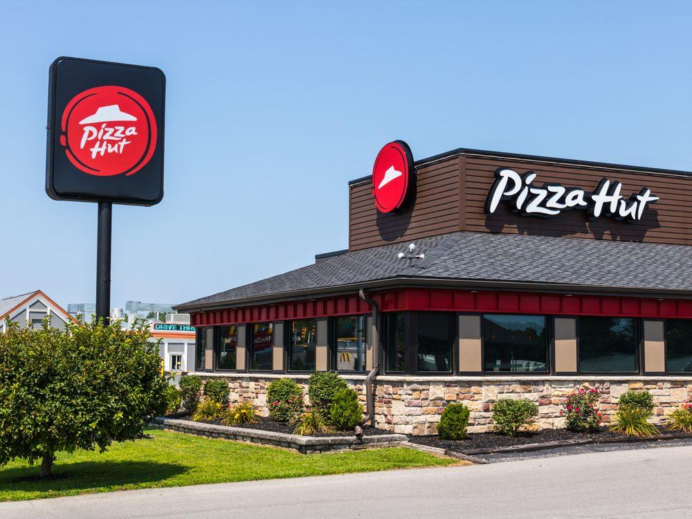 Exterior of Pizza Hut