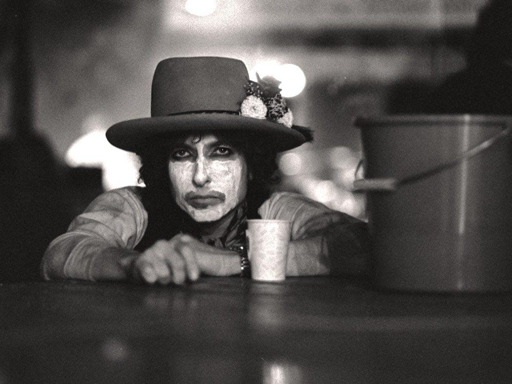 Bob Dylan in 1975