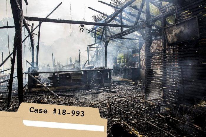 Burned-house