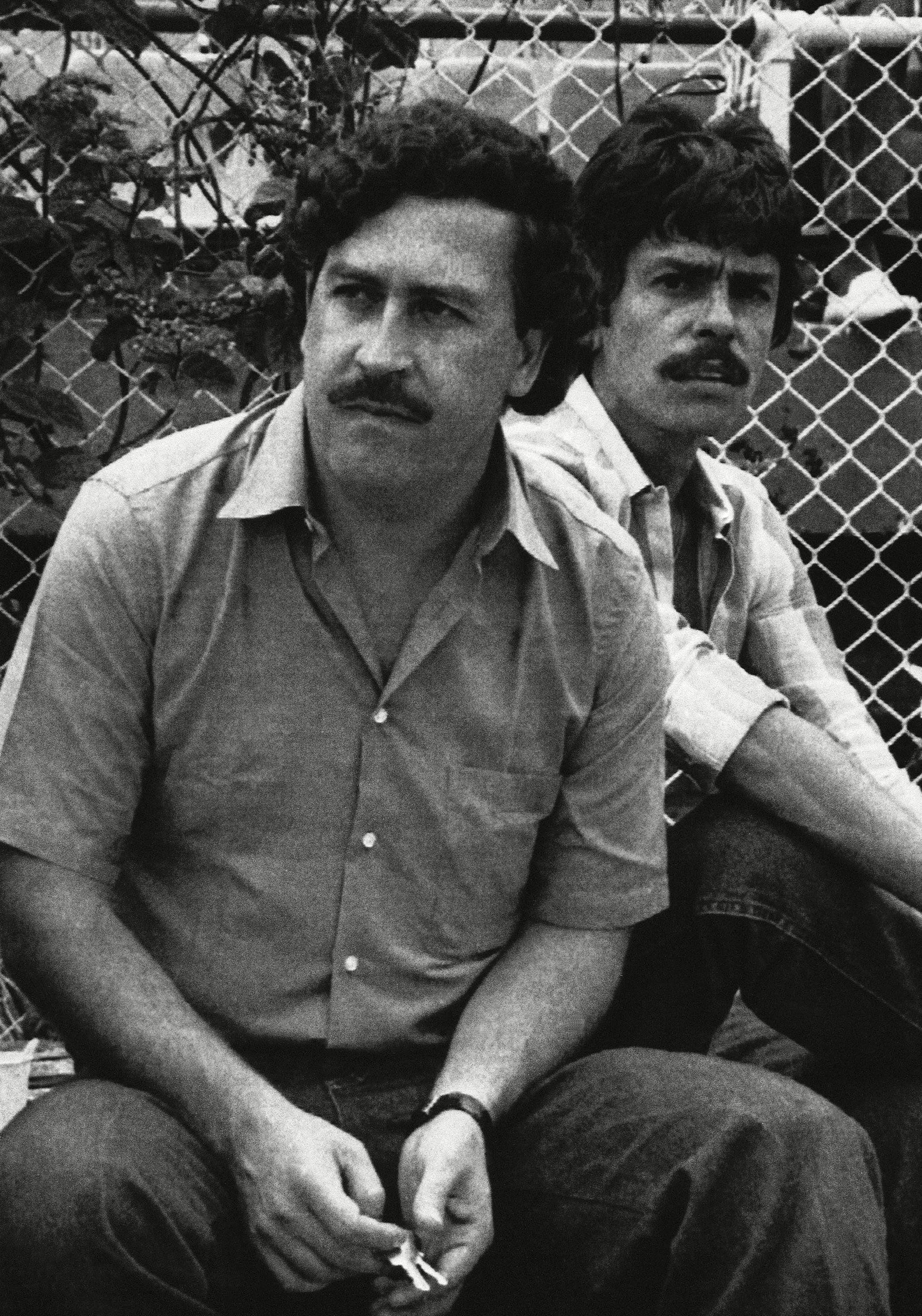 Pablo Escobar Medellin drug cartel boss