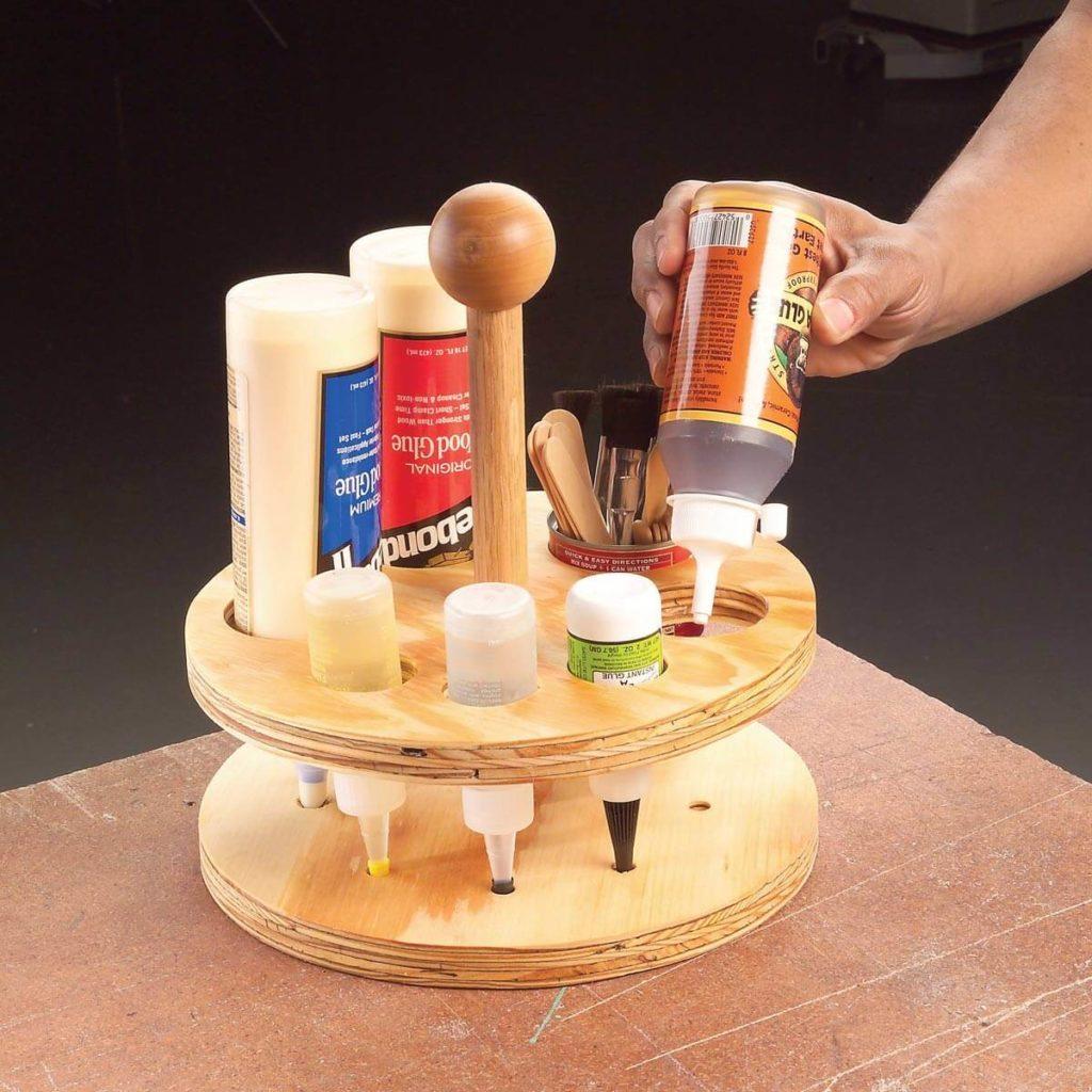 glue bottle caddy