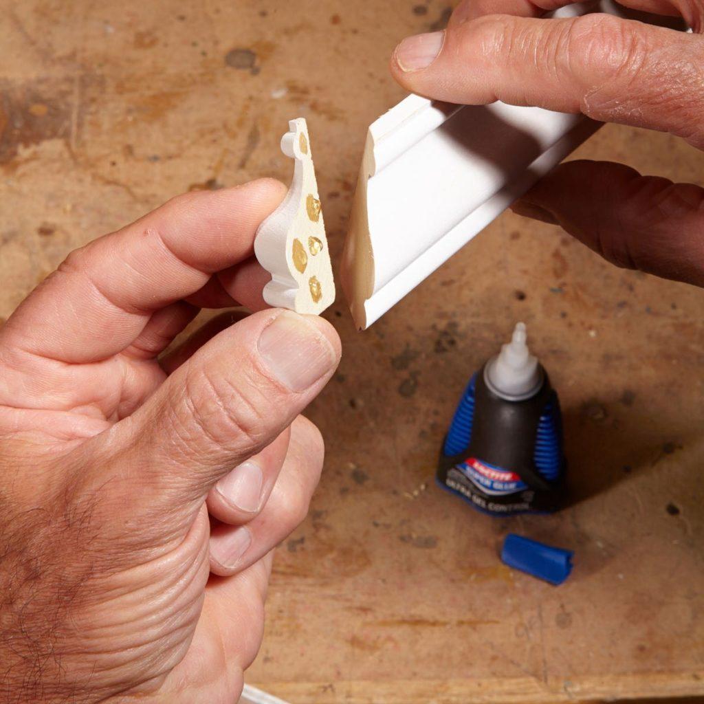 super glue molding