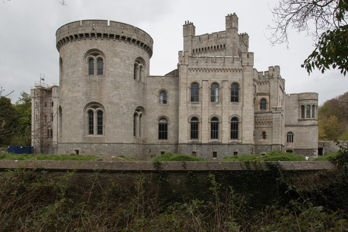 Gosford Castle. 19th-century country house situated in Gosford, a townland of Markethill, County Armagh, Northern Ireland