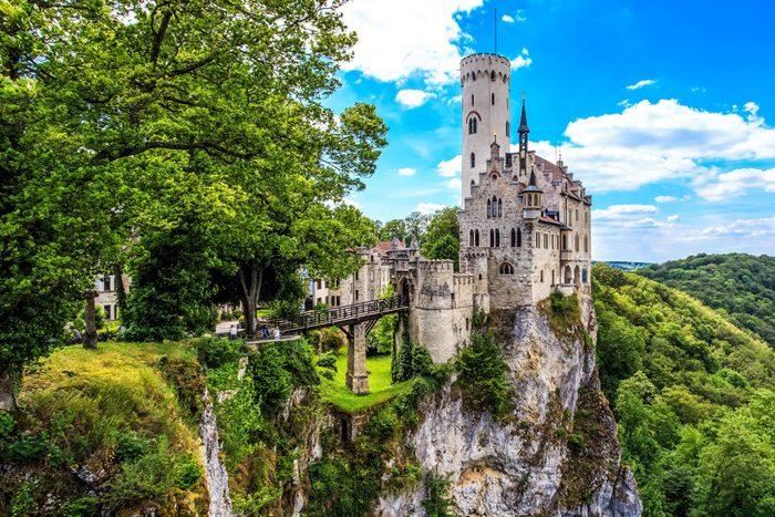 Lichtenstein castle. Baden-Wurttemberg, Germany