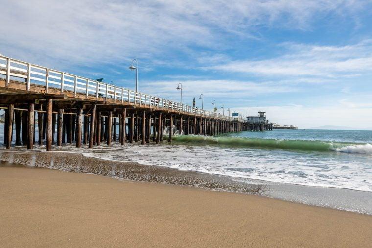 The Santa Cruz Beach Boardwalk and the wild California sun.