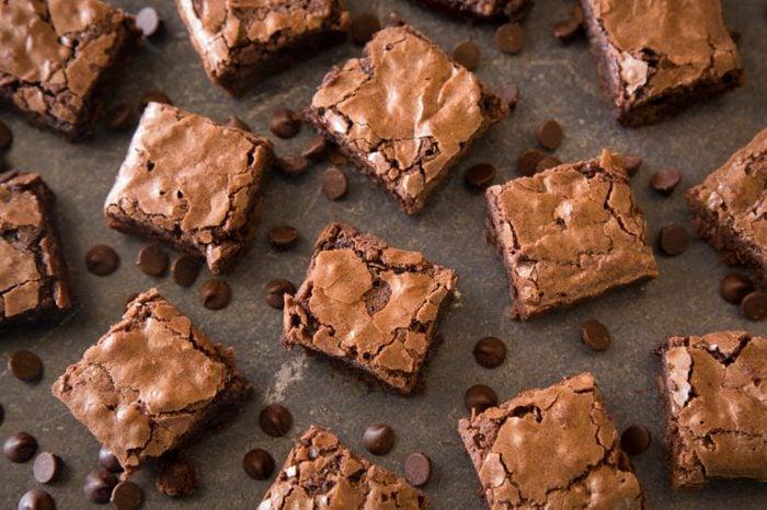 Homemade Gooey Double Chocolate Brownies