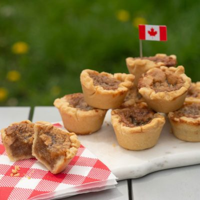 Canadian dishes Canadian food - butter tarts