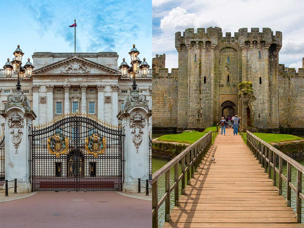 Buckingham Palace and castle in Ireland