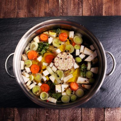 Difference between stock and broth
