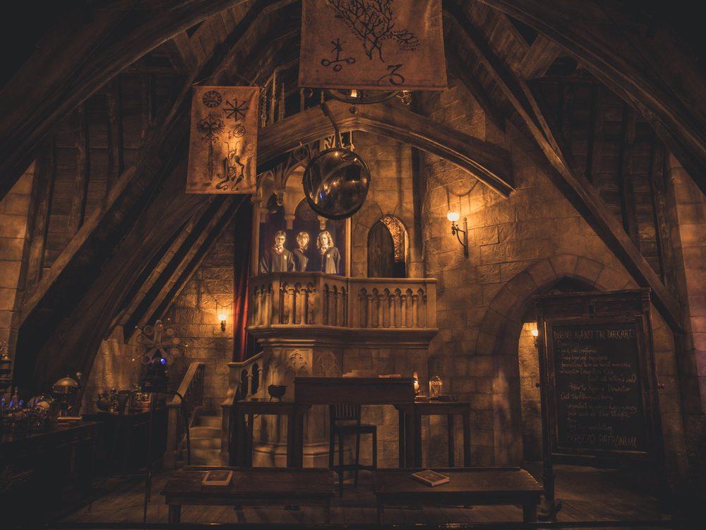 Harry Potter theme park set