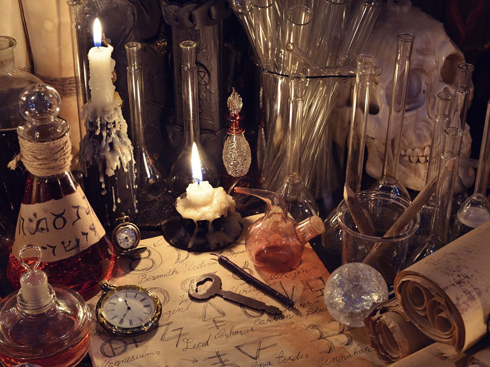 Harry Potter real life - alchemy