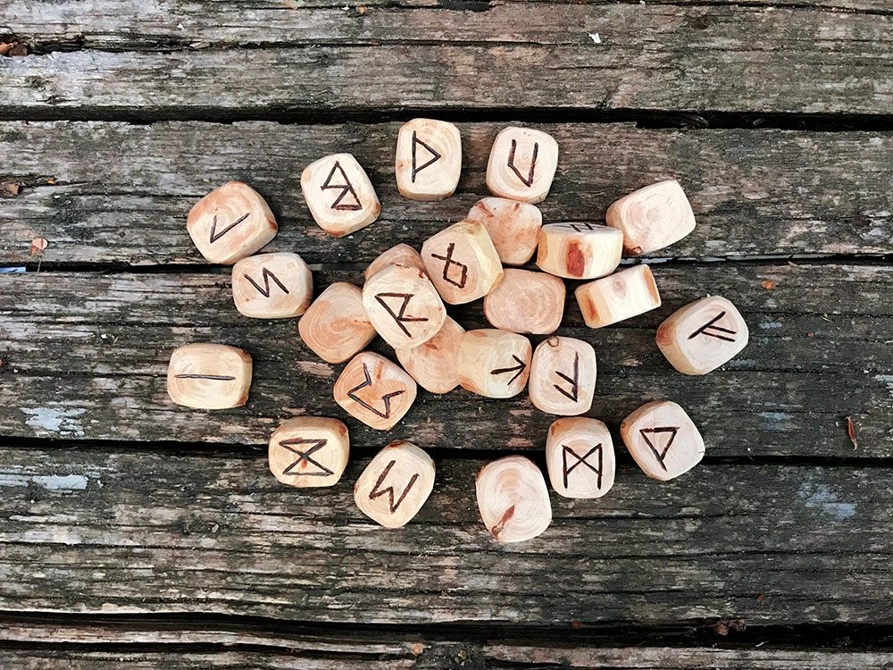 Harry Potter real life - runes