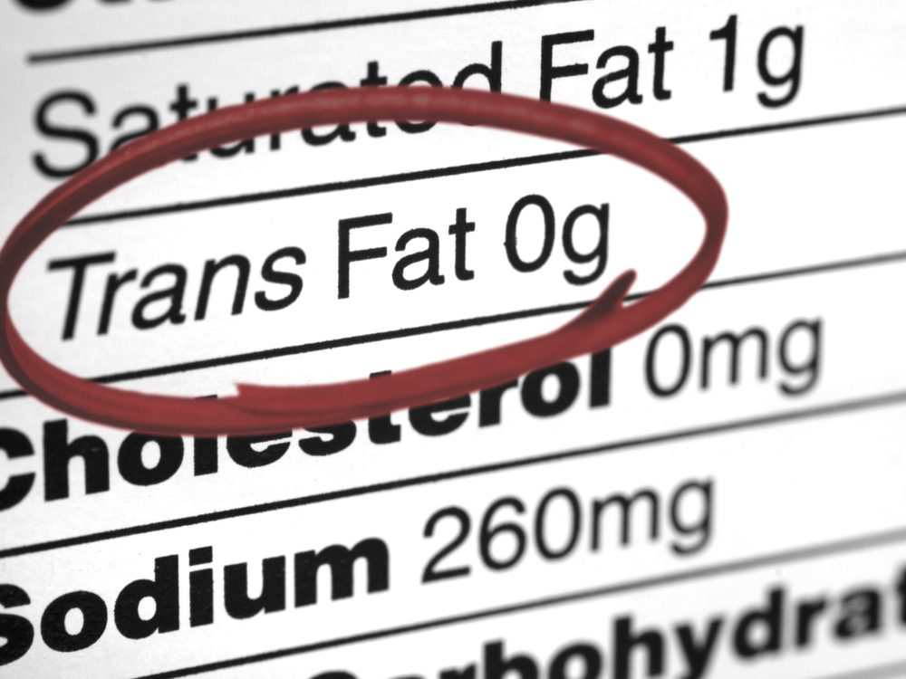 heart health trans fat