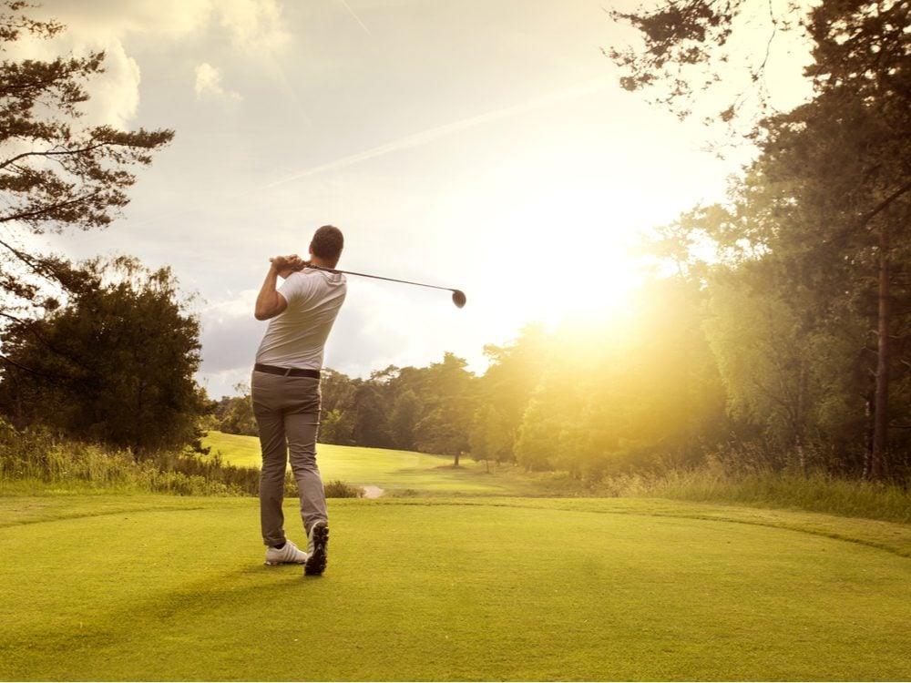 heart health golf
