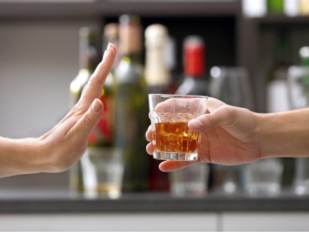 heart health no alcohol