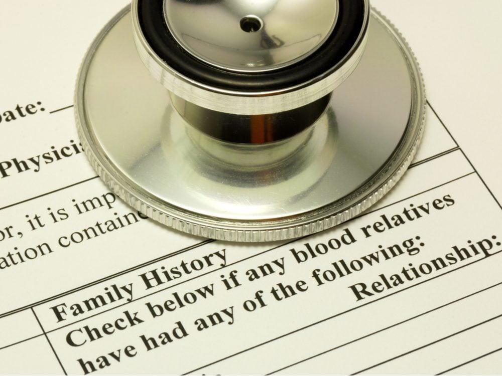 heart health family history