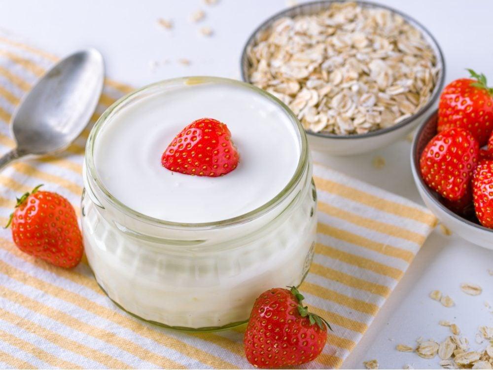 heart health low fat yogurt
