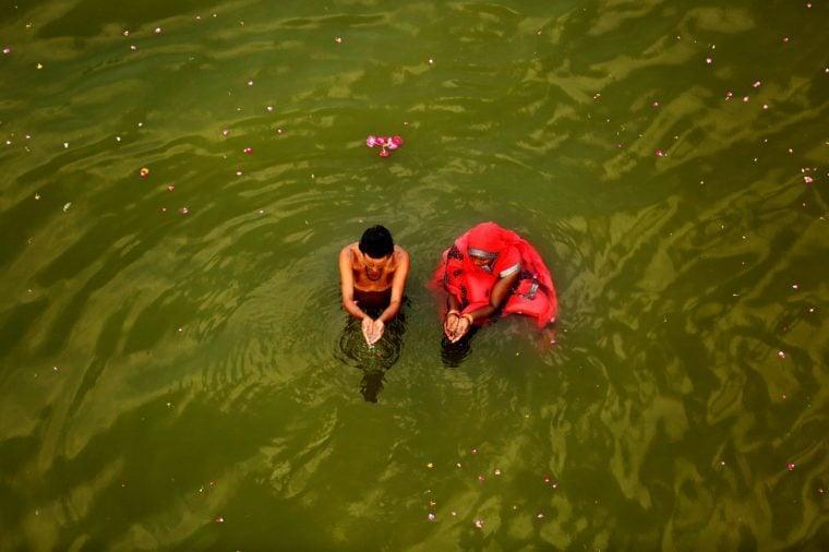 Hindu Festival, Allahabad, India - 06 Apr 2019