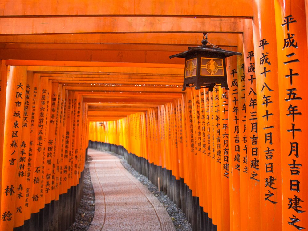 Travelling to Japan - Fushimi-Inari Shrine