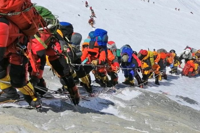 Nepal Crowded Everest - 22 May 2019