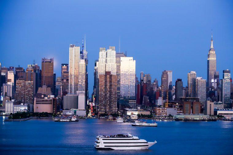 New York skyline, USA - 18 May 2019