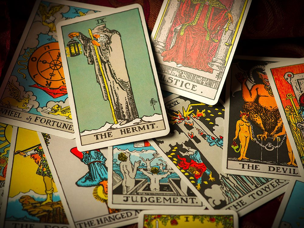 Outrageous news stories - Canadian charged with withcraft Tarot cards