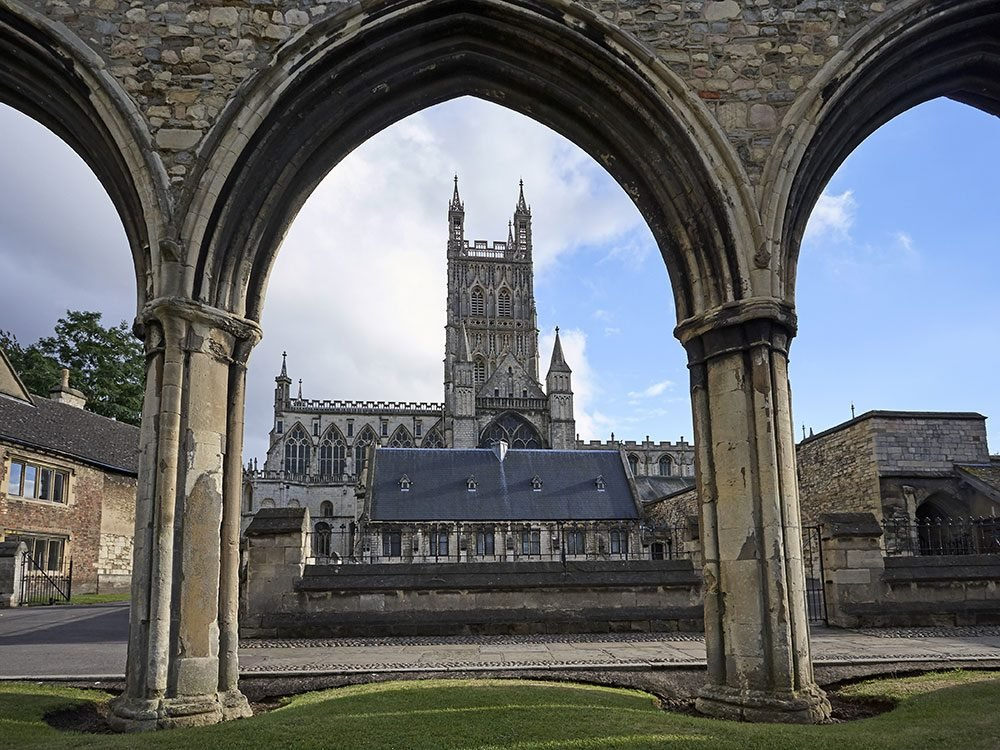 Outrageous news stories - Gloucester cathedral