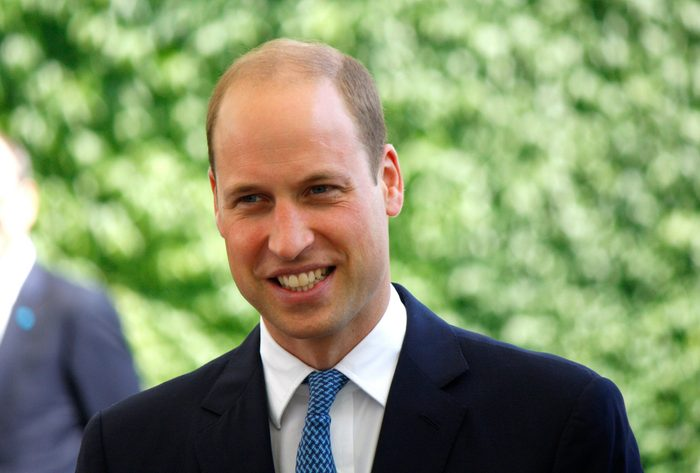 Prince William Facts - Headshot of Prince William outside