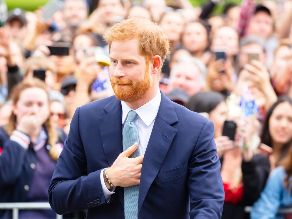 Prince Harry in Auckland, NZ