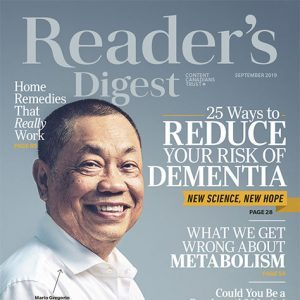 Inside the September 2019 Issue of Reader's Digest Canada